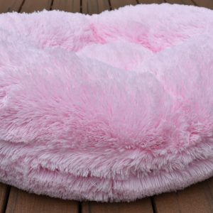 SUMMER SALE – Bessie and Barnie Bagel Bed Bubblegum XS